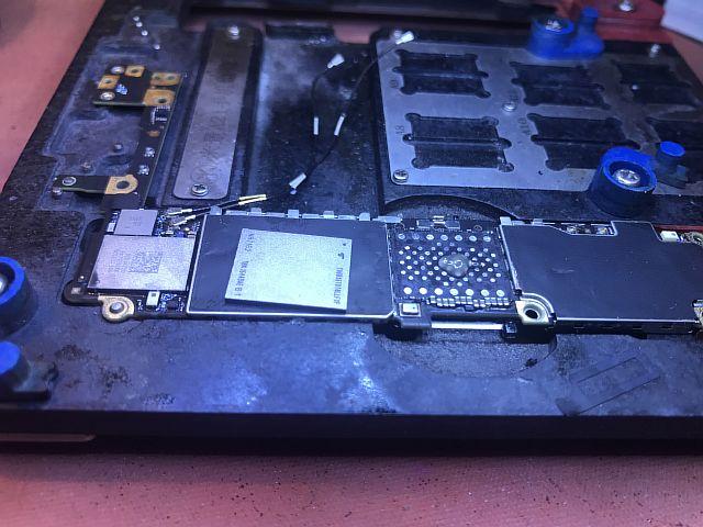 IPhone 6S ошибка 9, замена памяти