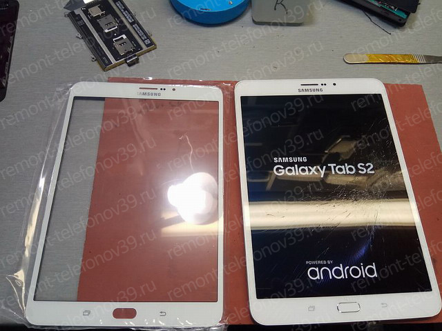 Замена стекла samsung tab 2 телефон н8 замена стекла - ремонт в Москве